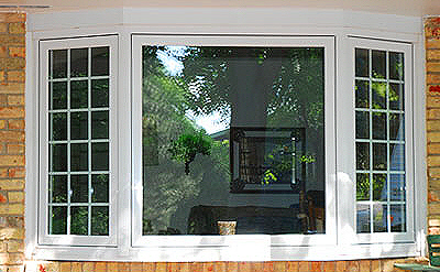 double glazed bay windows