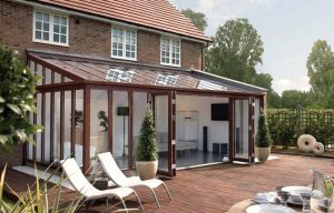 Lean to UPVC Conservatories