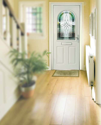 White UPVC Front Door. Front Door Prices